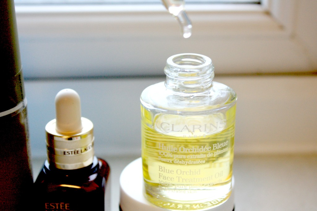 Clarins blue orchid ingredients