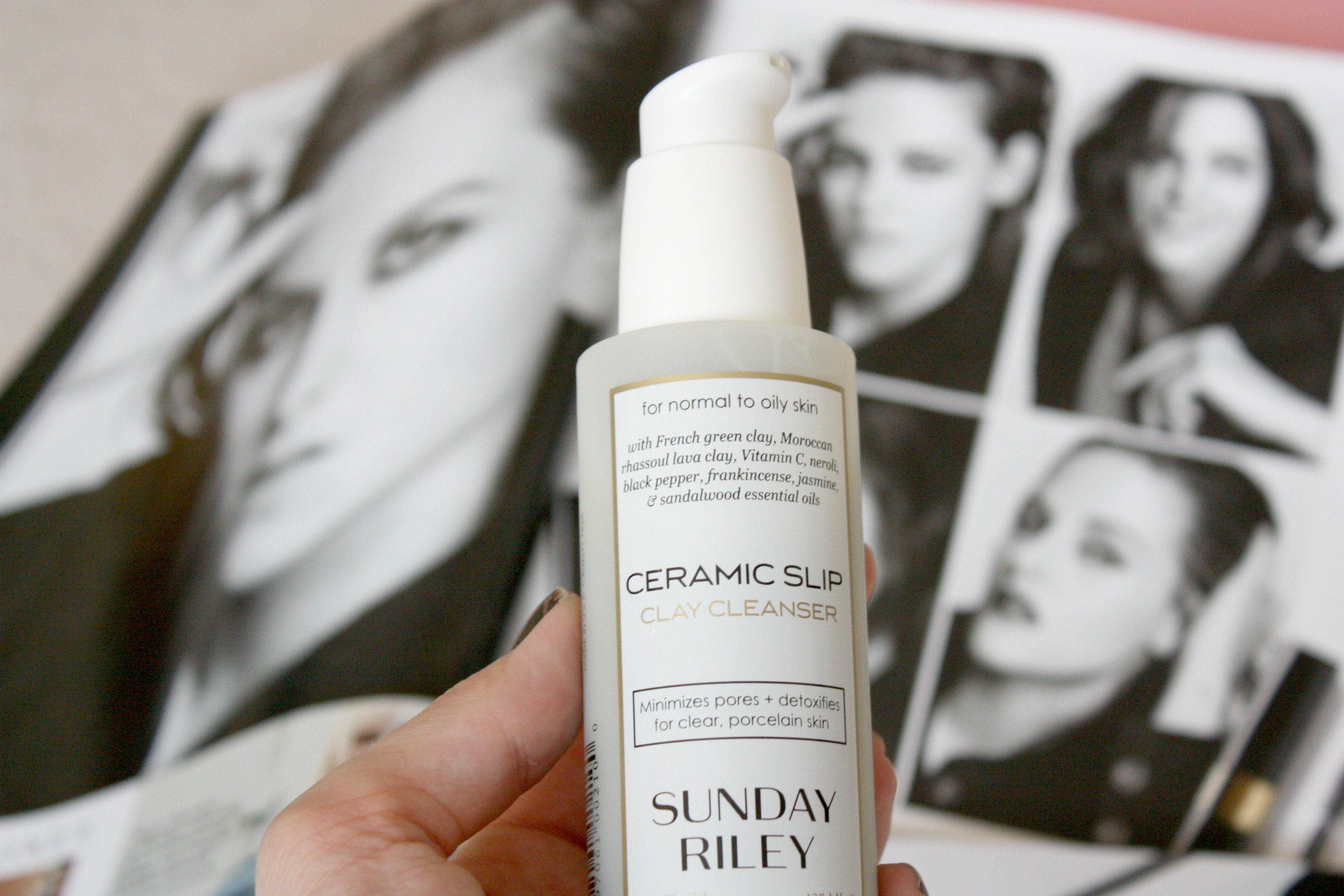 Ceramic Slip Clay Cleanser from Sunday Riley – review